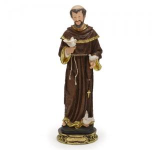 São Francisco 30cm resina importada - Estilo Bernini