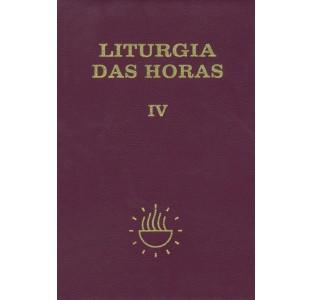 Liturgia das horas - Volume IV - Tempo comum - Semanas 18º a 34º - Encadernado