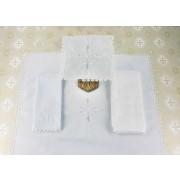 Alfaia Cruz de Alcântara branca