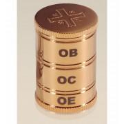 Vaso de Santo óleo 3 partes - Dourado
