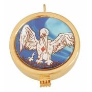 Teca pelicano dourada 7609