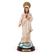 Sagrado Coração de Maria 30cm Resina Importado