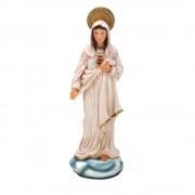 Sagrado Coração de Maria 10cm Resina Importado