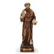 São Francisco 20cm resina importada - Estilo Florence
