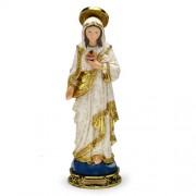 Sagrado Coração de Maria 40cm resina importada - Estilo Bernini