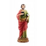 São Judas Tadeu com machado 20cm Resina importado - Estilo Florence