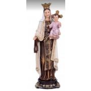 Nossa Senhora do Carmo 13cm Resina Importada -  Estilo Angelus
