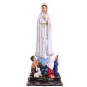 Nossa Senhora de Fátima 13cm resina importada - Estilo Angelus