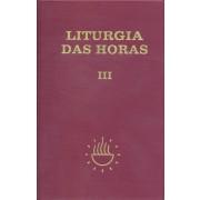 Liturgia das horas - Volume III - Tempo comum - semanas - 1º a 17º - Encadernado